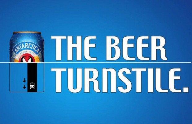 Antarctica trasforma le birre in biglietti della metro [VIDEO]