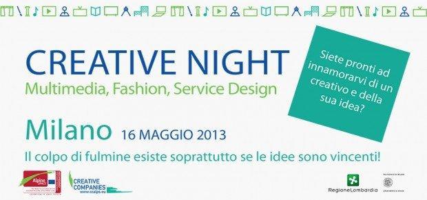 Creative Camp: arriva la Creative Night con le migliori idee su Multimedia, Moda e Design dei Servizi