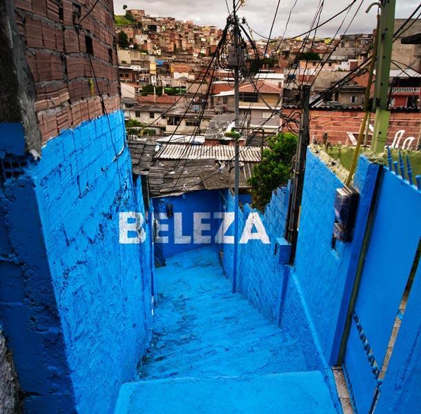 Graffiti tridimensionali per dare luce alle favelas brasiliane