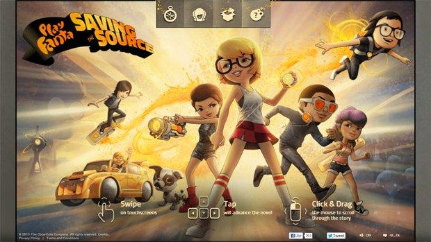 'Play Fanta': la campagna interattiva basata su una graphic-novel