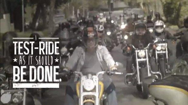 Harley Davidson e il perfetto test drive [VIDEO]