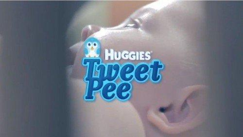 Problemi con i pannolini del vostro bebè? Huggies lancia TweetPee