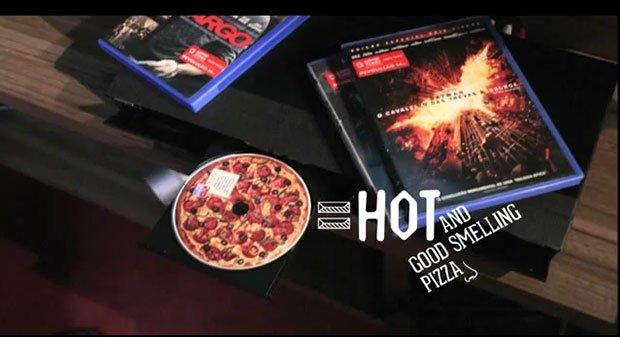 Il dvd che odora di pizza te lo offre Domino's Pizza [VIDEO]
