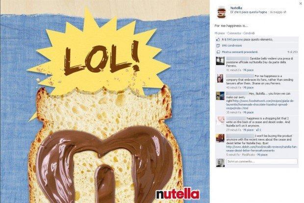 Nutella fail