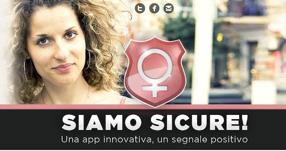 App of the Week: Siamo Sicure, un'app per la sicurezza delle donne