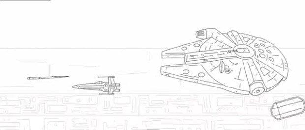 Star Wars in 60 secondi [VIDEO]