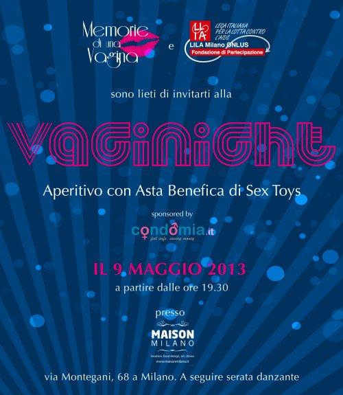 VagiNight: la lotta all'AIDS è a colpi d'asta di sex toys [EVENTO]