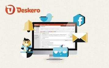 Deskero, il software di assistenza clienti con il cuore social