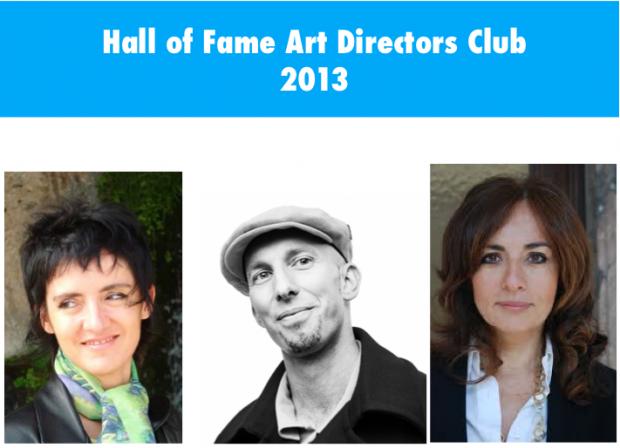 Hall of Fame Art Directors Club 2013: insieme per una pubblicità migliore