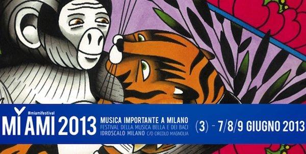 MI FAI: 3 giorni di fumetto e musica live al MI AMI FESTIVAL 2013 [EVENTO]