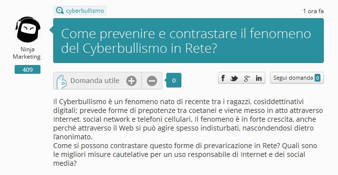 Cyberbullismo: come prevenire e contrastare il fenomeno? [Ninja Quag]