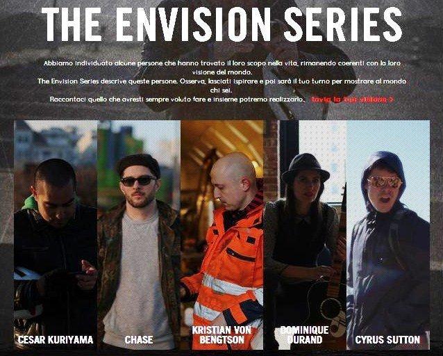 Ray-Ban e la nuova campagna interattiva Envision Series