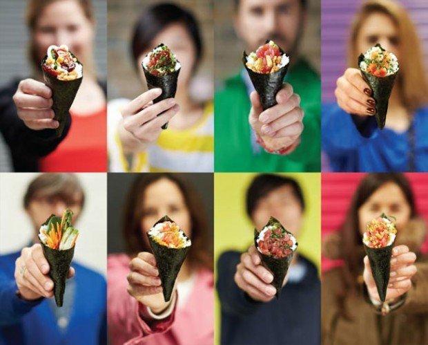 Yoobi Temakeria: quando il sushi sposa il design