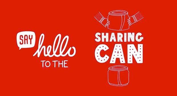 Coca Cola si fa in due con la Sharing Can [VIDEO]