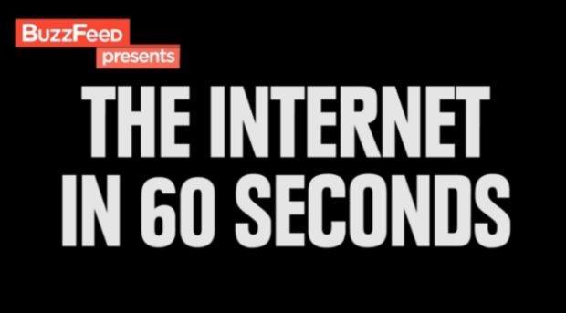 Cosa succede in Rete ogni 60 secondi [VIDEO]