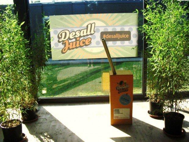 Desall Juice: ideare un prodotto e commercializzarlo in un giorno è possibile!