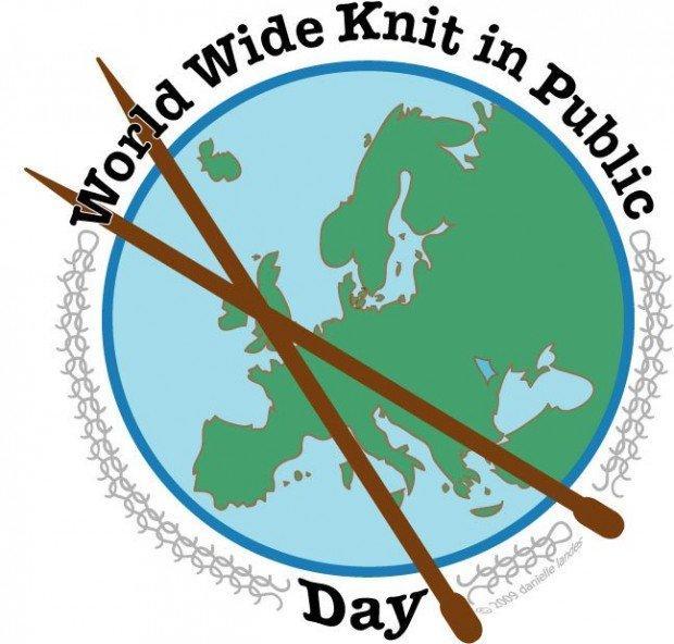 Giornata mondiale della maglia in pubblico: Knitting is cool!