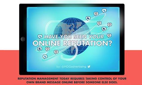 Hai controllato la tua reputazione online? [INFOGRAFICA]