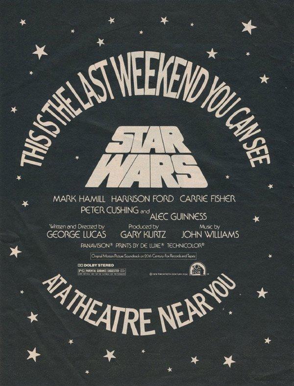 Star Wars: l'evoluzione del logo che ha fatto la storia