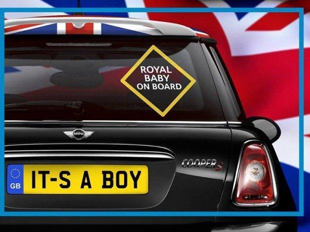I brand festeggiano la nascita del Royal Baby