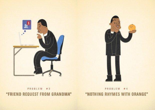 I 99 problemi di Jay Z nelle illustrazioni di Ali Graham