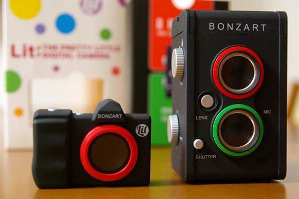 Bonzart Lit e Ampel Tilt-Shift: fotocamere ad alta tecnologia in salsa vintage