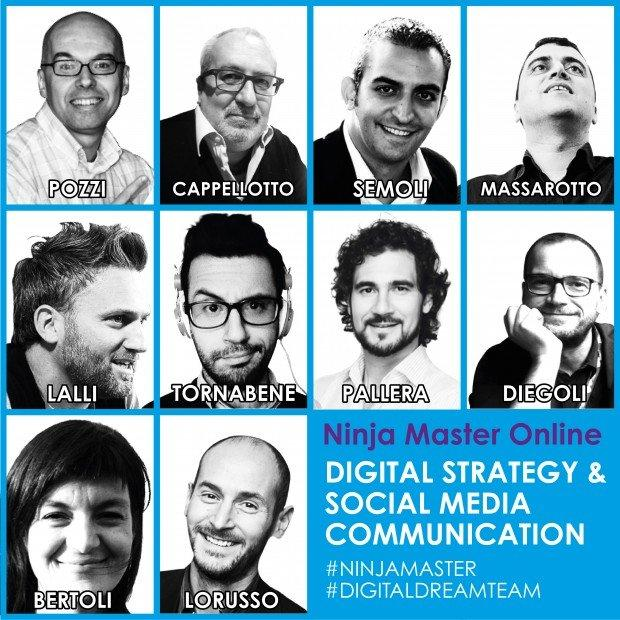 Ninja Academy presenta il dream-team del digital marketing italiano