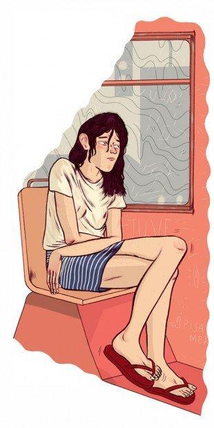 Top 10 fumetti e illustrazioni: i migliori creativi della settimana Bianca Bagnarelli