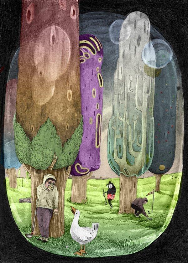Top 10 fumetti e illustrazioni: i migliori creativi della settimana Alice Socal