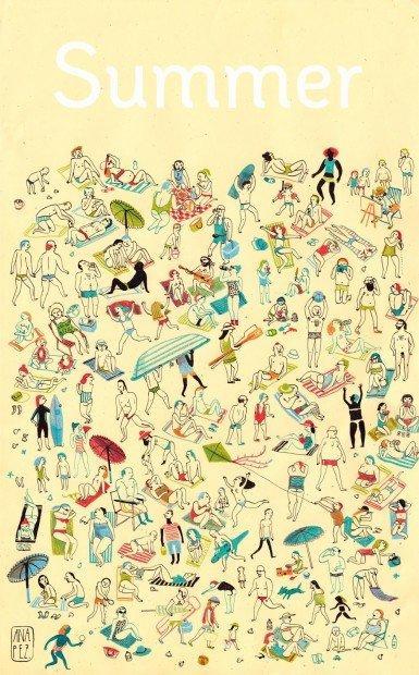 Top10 fumetti e illustrazioni i migliori creativi della settimana Ana Pez