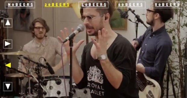 Annotazioni, alcool e rock'n'roll nel video dei Moones [VIDEO]