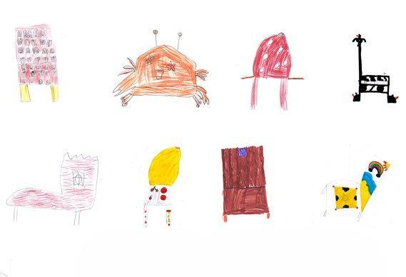 Disegna una sedia: gli scarabocchi dei bambini diventano realtà!