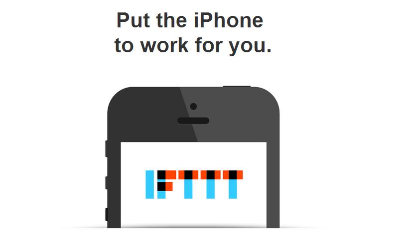 App of the Week: IFTTT, lascia che l'iPhone lavori al posto tuo!