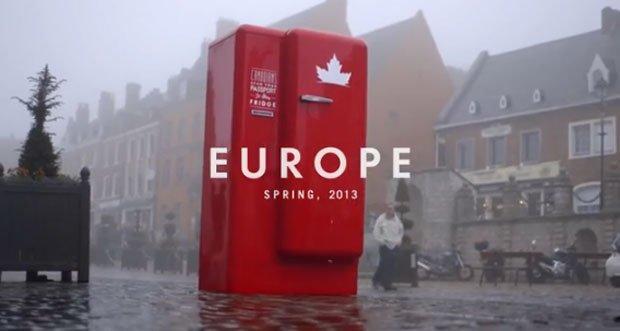 L'ambient patriottico di Molson Canadian in giro per l'Europa [VIDEO]