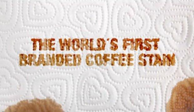 La prima macchia di caffè brandizzata al mondo è di Regina [VIDEO]