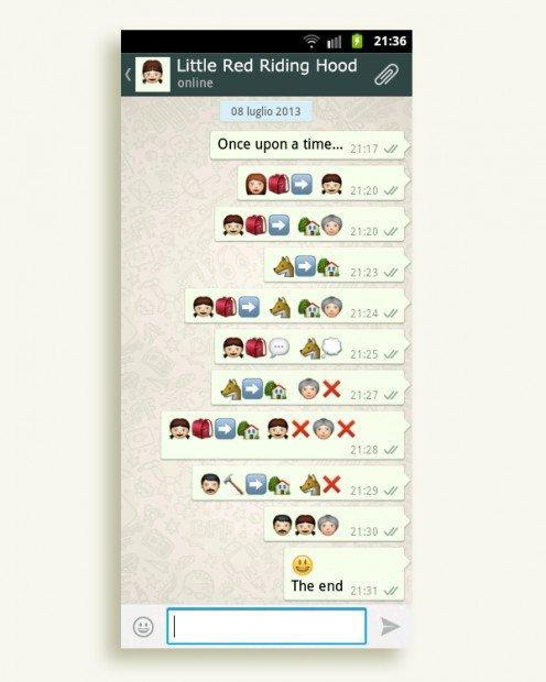 """Le favole si raccontano con Whatsapp: il """"c'era una volta"""" di Gerardo Lisanti"""