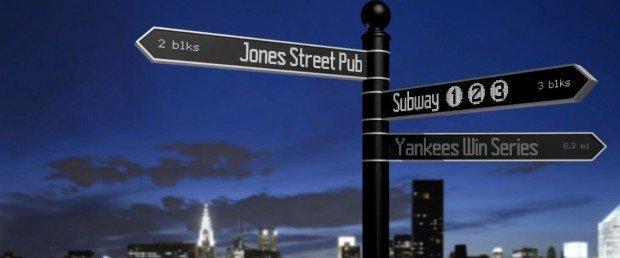 "Points: segnaletica stradale ""social"" aggiornabile in real time"