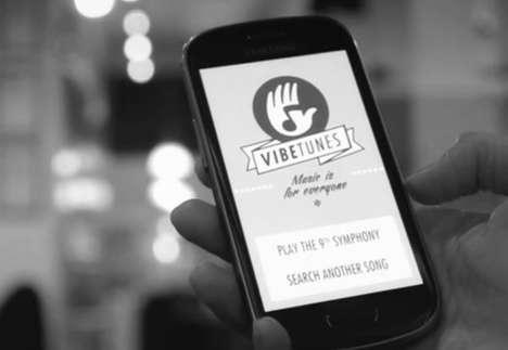 """Vibetunes, l'app che """"materializza"""" la musica"""