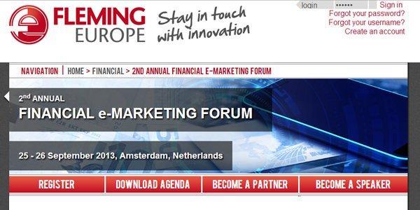 Le 12 e-reason per partecipare al Financial e-Marketing Forum