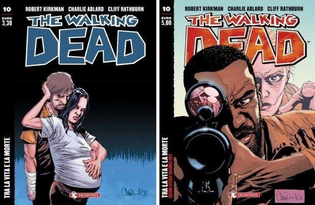 Top 10 fumetti e illustrazioni speciale estate 2013 The Walking Dead 10 regular + variant