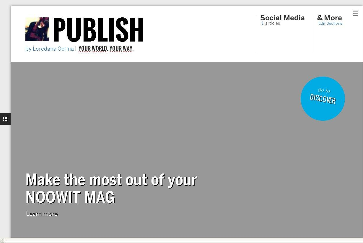 NOOWIT: Content curation e self-publishing senza rumore!