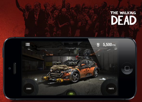 The Walking Dead e Hyundai: progetta la tua auto anti-zombie!