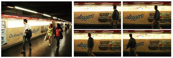 Walking display: una pubblicità che va al passo svelto delle metropoli