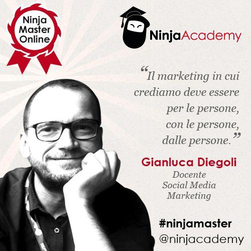 Social Media Marketing, la parola a Gianluca Diegoli [Ninja Master]