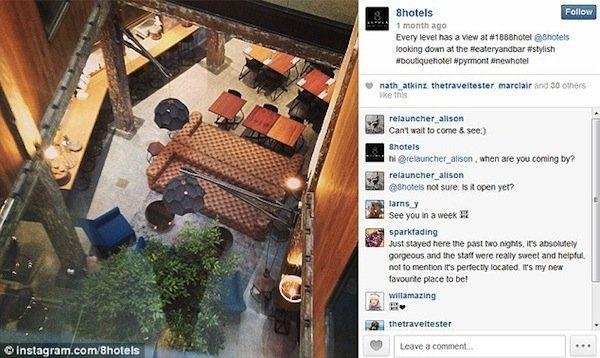 Instagram hotel: una notte gratis se hai almeno 10,000 follower
