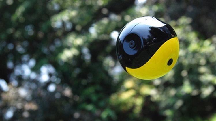 Squito camera-ball: una fotocamera tutta da lanciare!