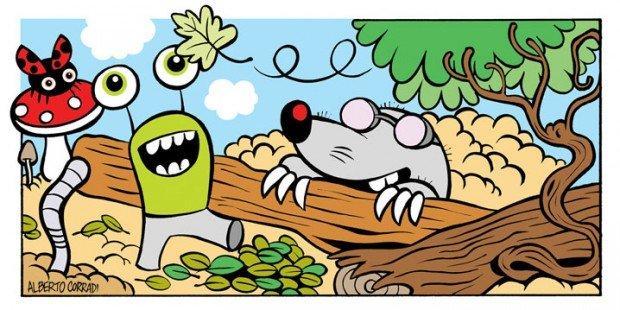 Top 10 fumetti e illustrazioni: i migliori creativi della settimana Alberto Corradi
