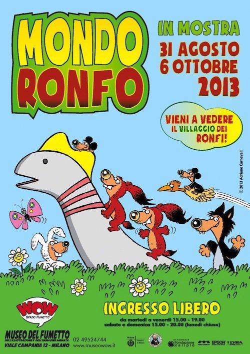 Top 10 fumetti e illustrazioni: i migliori creativi della settimana Ronfi Adriano Carnevali
