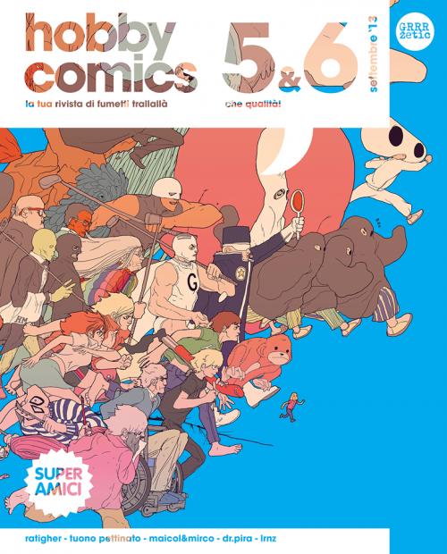 Top 10 fumetti e illustrazioni: i migliori creativi della settimana Hobby Comics Superamici