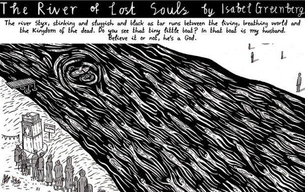Top 10 fumetti e illustrazioni: i migliori creativi della settimana River of Lost Souls